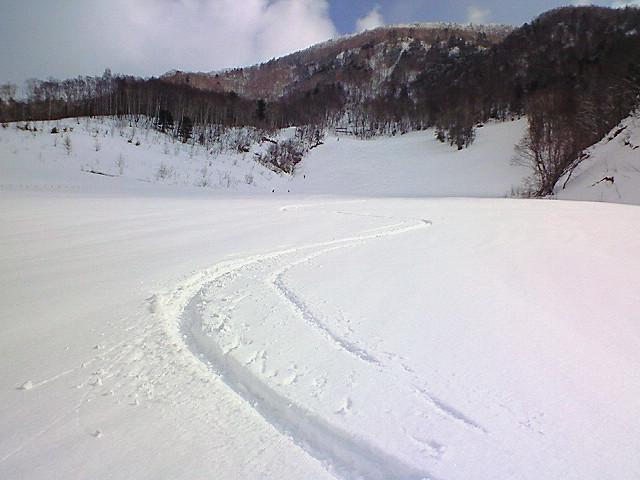 奥飛騨慕情的OK牧場で滑る